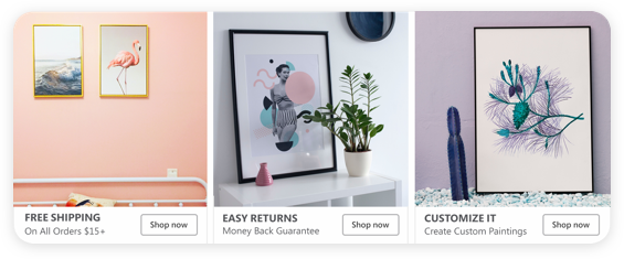 Ad paintings